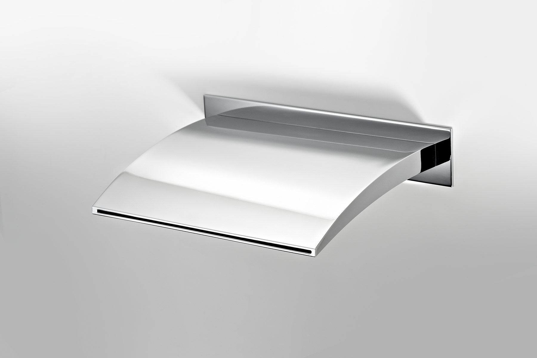 Contemporary New Wave Wall Mount Tub Spout