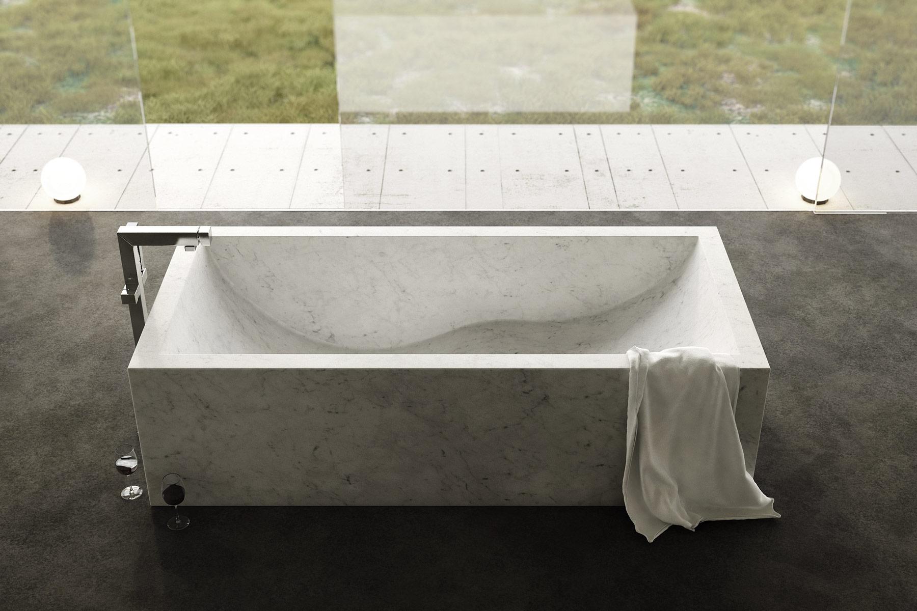 Modern Onda Freestanding Bathtub