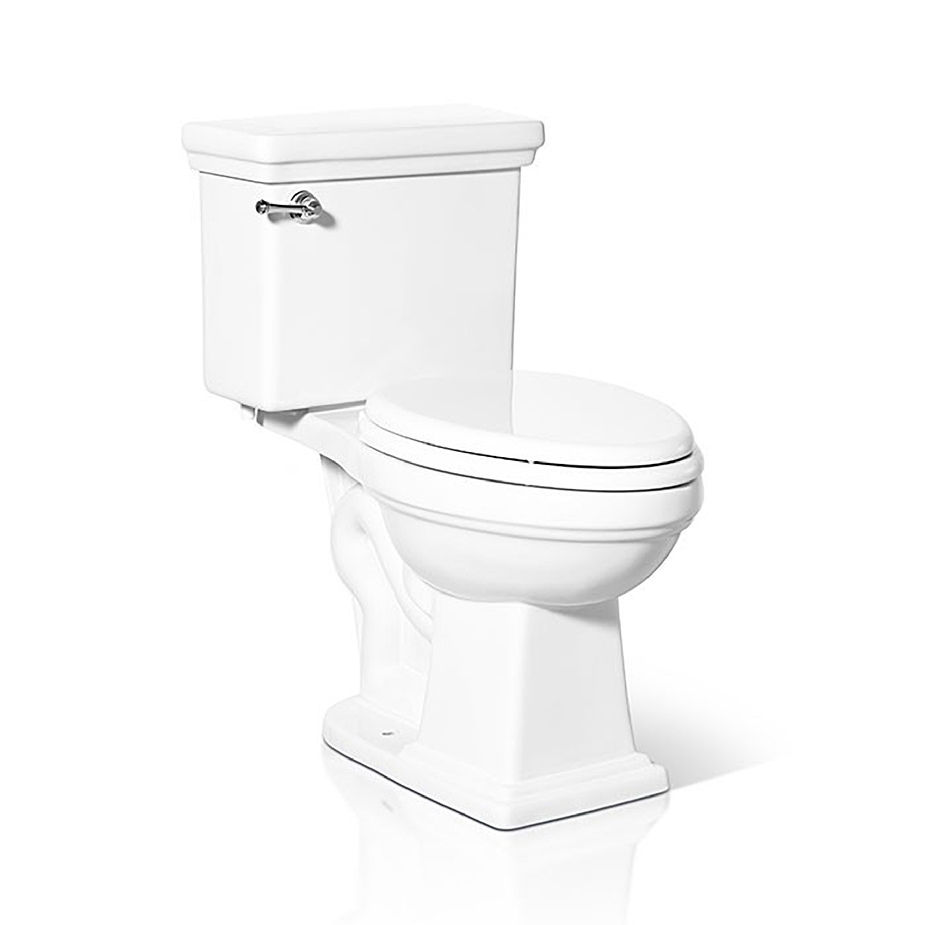 Traditional Peninsula Two Piece Toilet