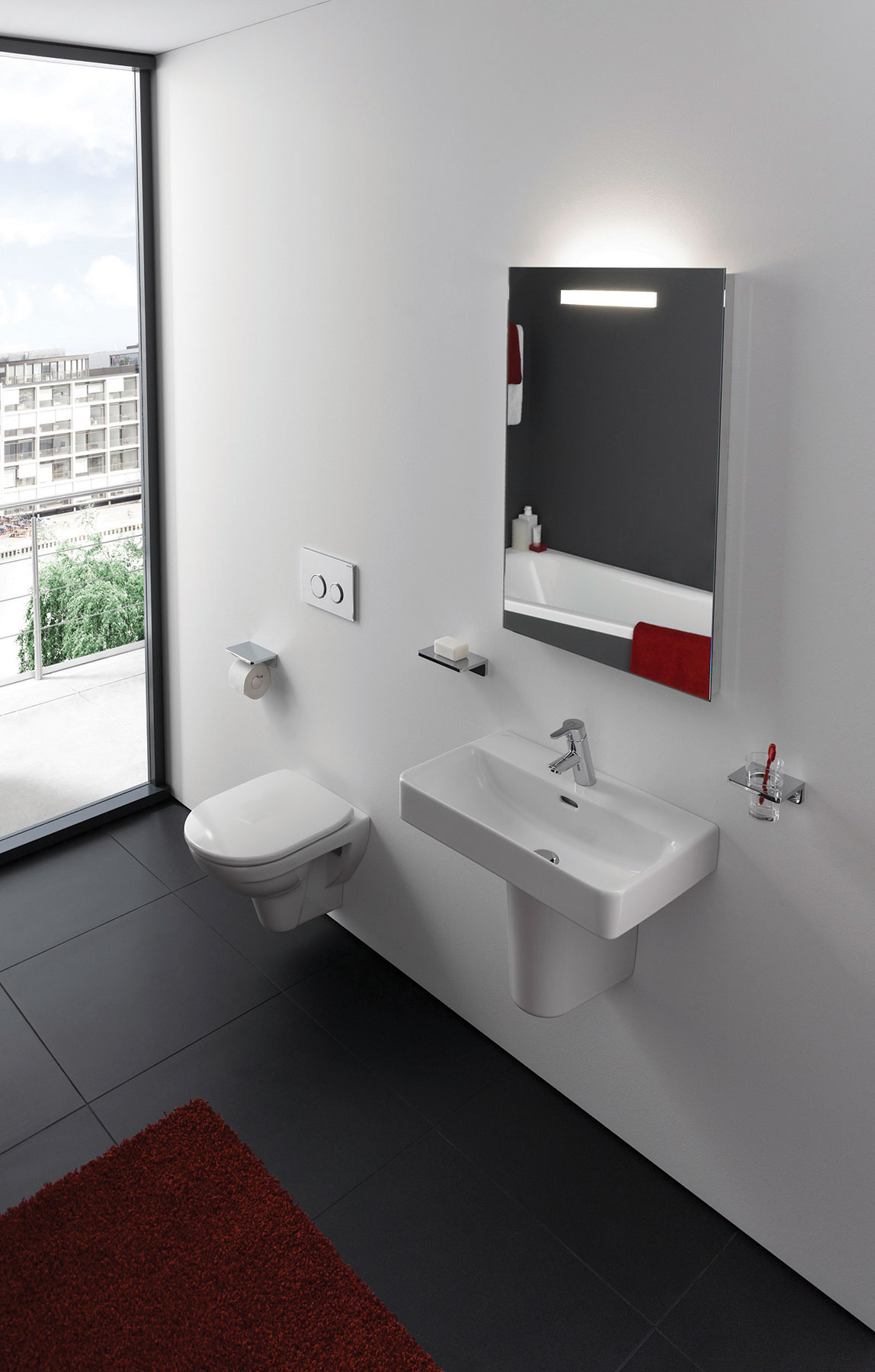 Modern Pro Wall Mount Toilet first image