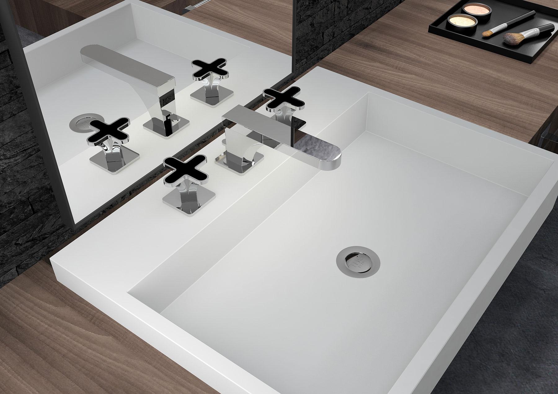 Modern Profil Deck Mount Faucet