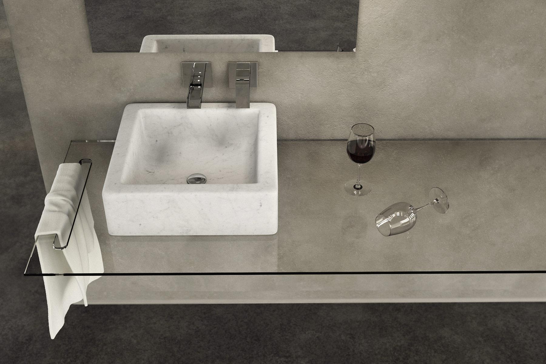 Transitional Quadra Countertop Washbasin