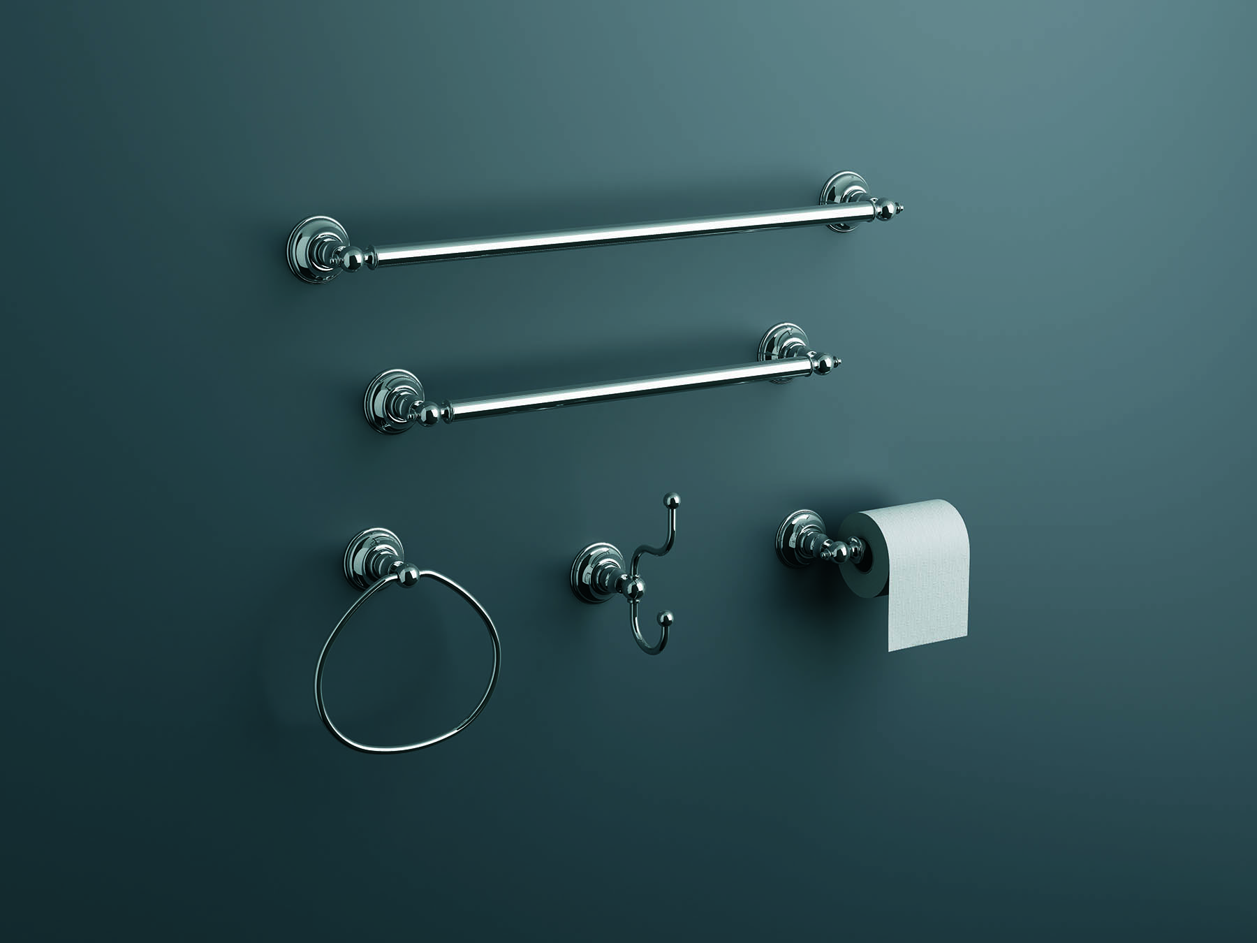 Revere Wall Mount Towel Ring
