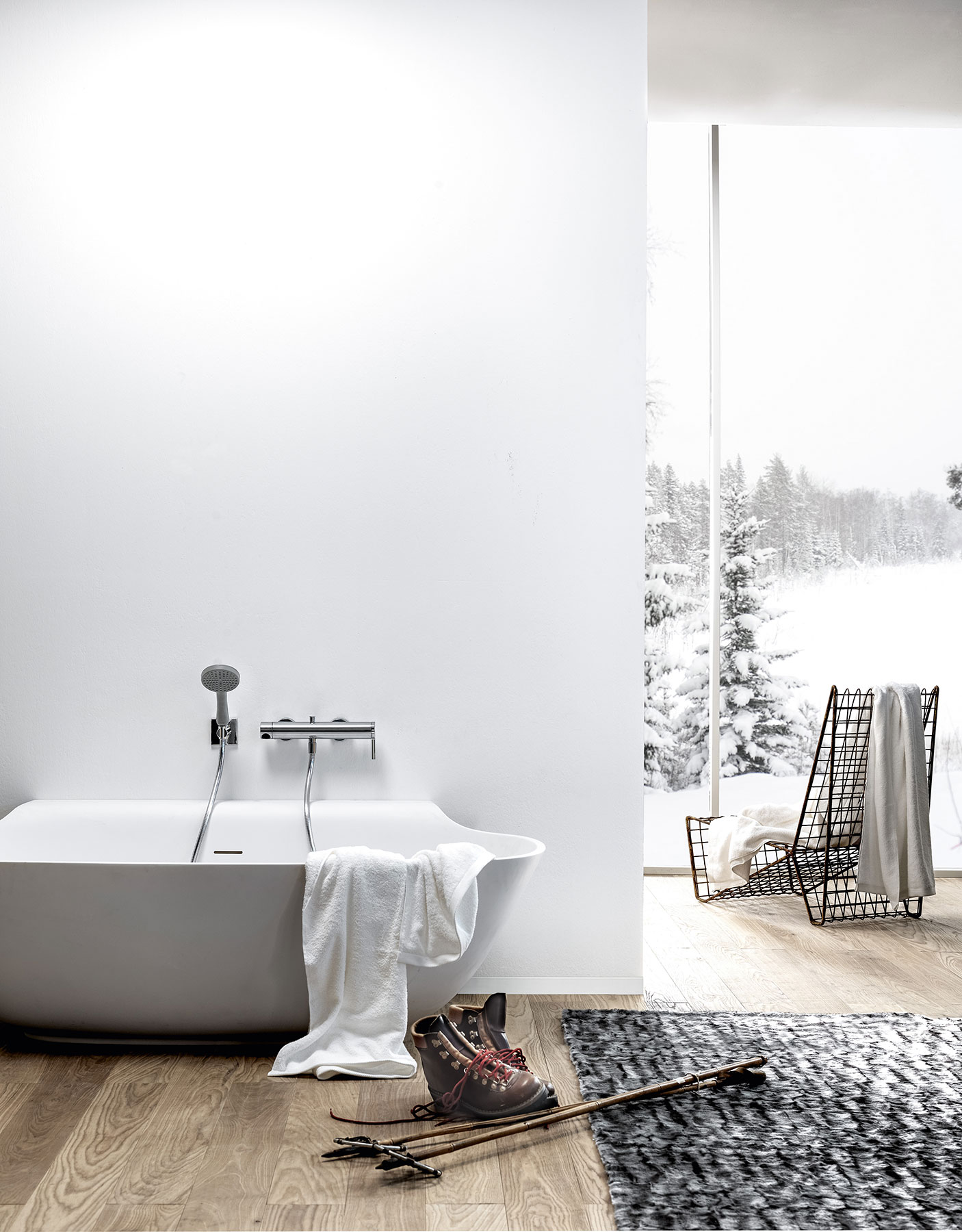 Modern Scoop Freestanding Bathtub