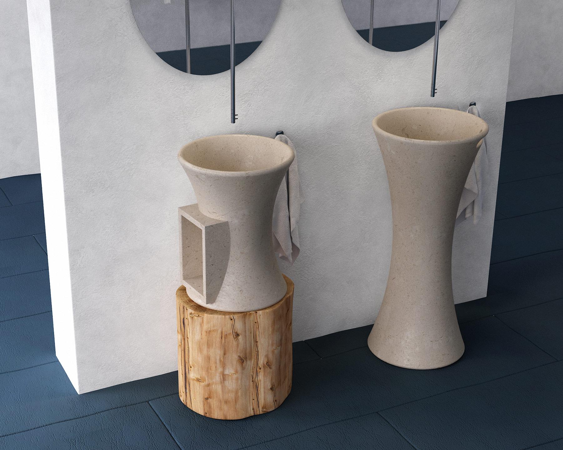 Contemporary Tina Countertop Washbasin