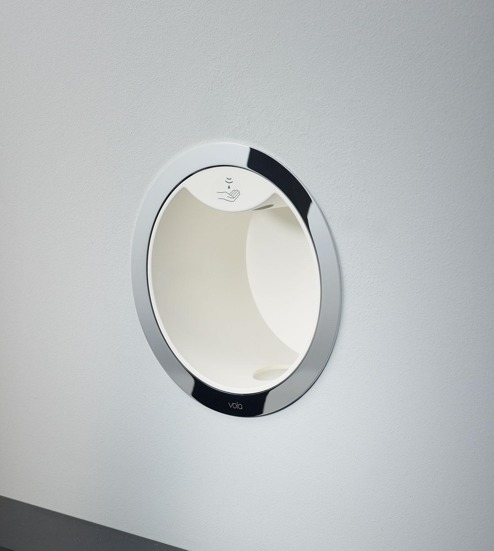Modern Vola Built-In Soap Dispenser