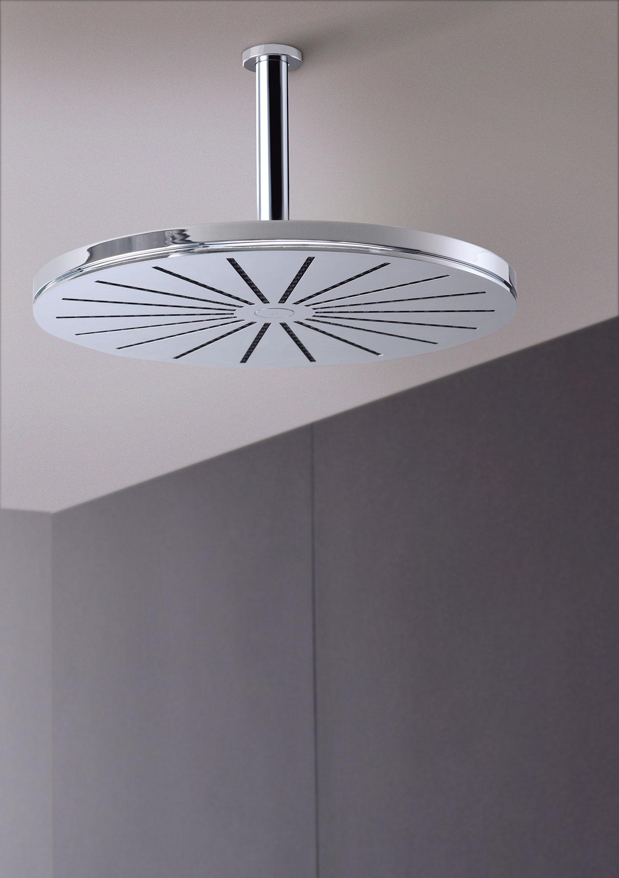 Modern Vola Ceiling Mount Shower Head Set