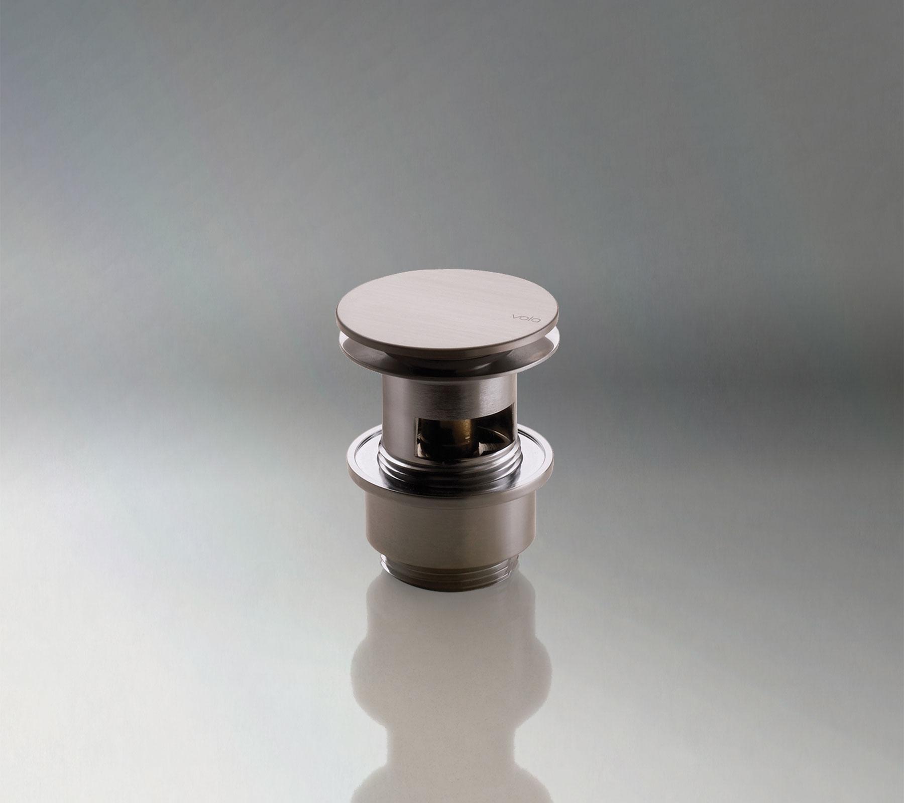 Modern Vola Push Button Drain
