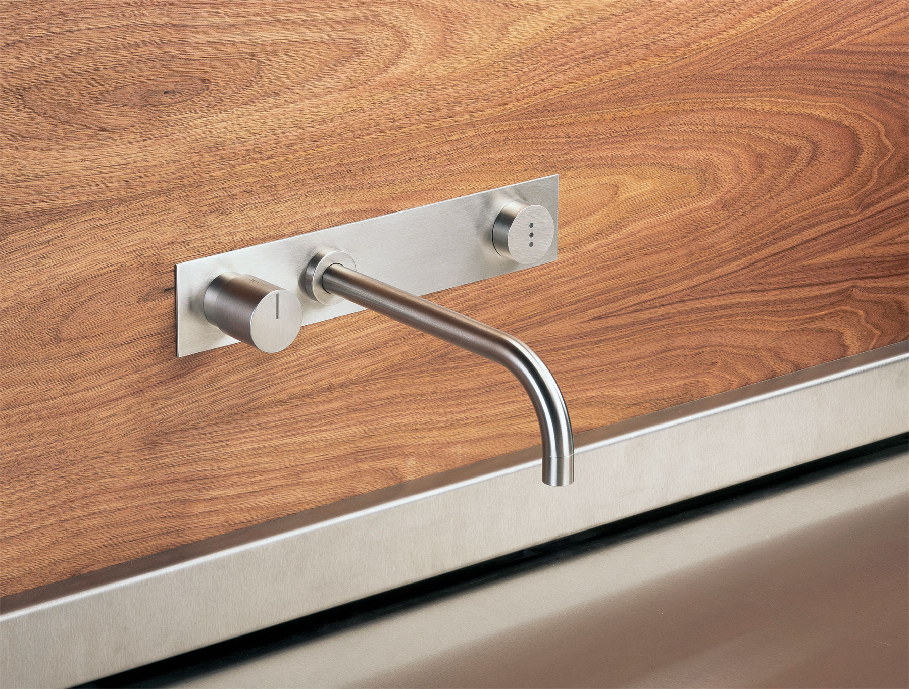 Transitional Vola Wall Mount Faucet