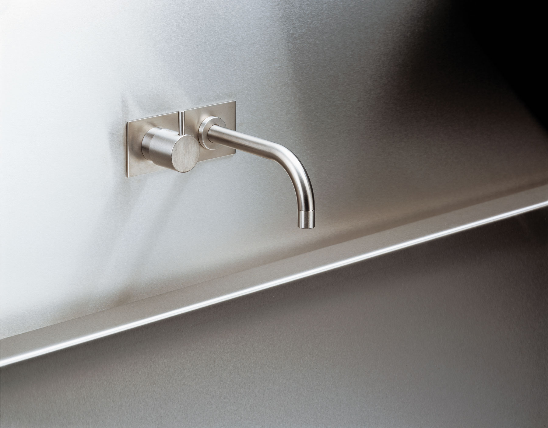 Contemporary Vola Wall Mount Faucet Set