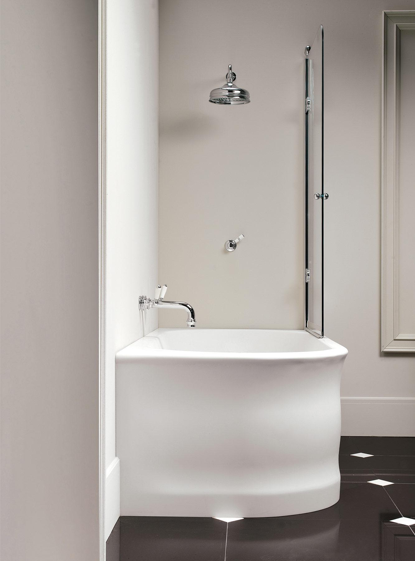 Modern Wave Freestanding Bathtub