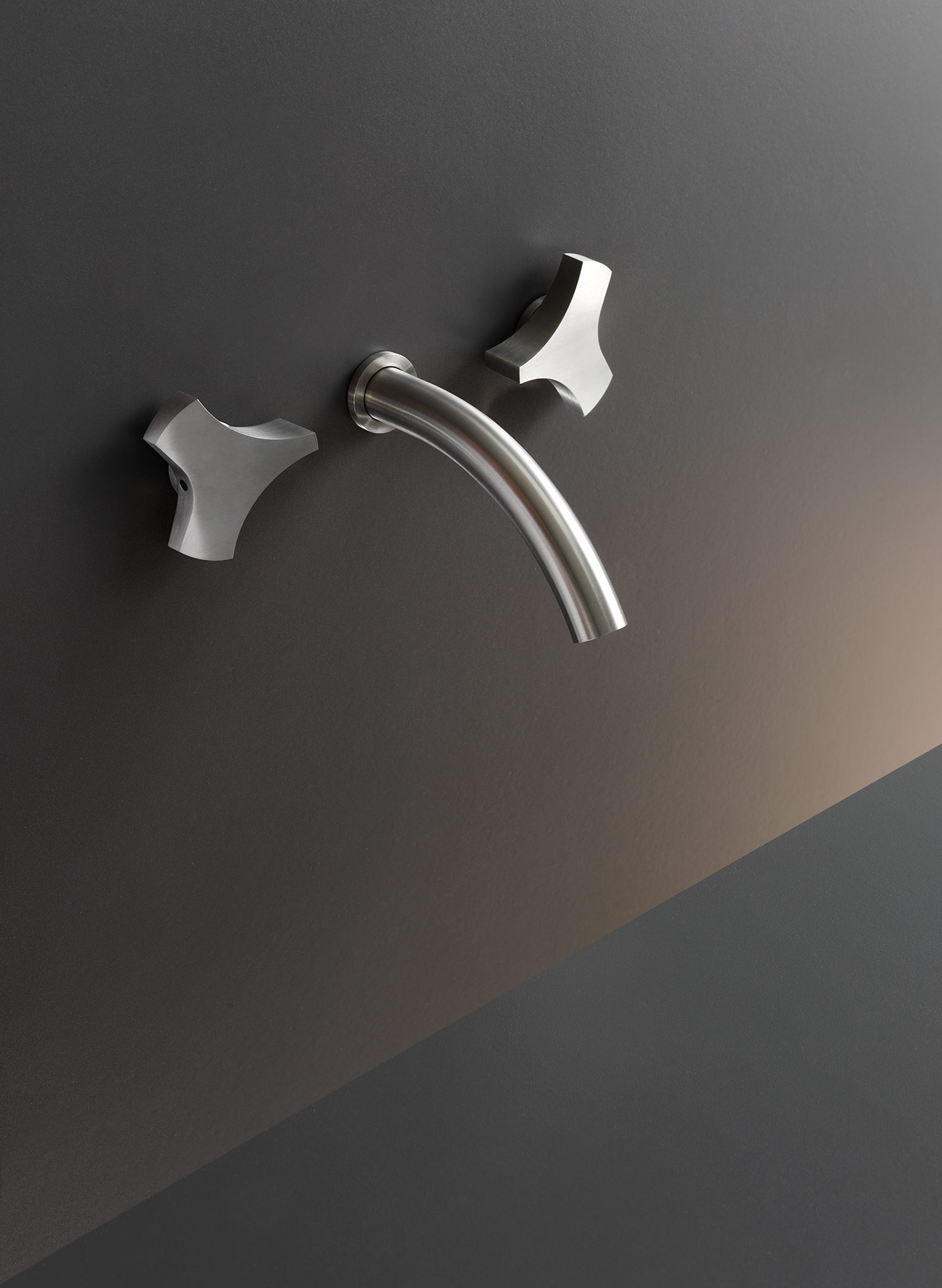 Contemporary Ziqq Wall Mount Faucet